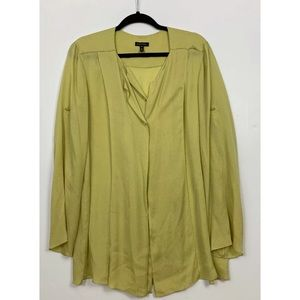 Escada Margaretha Blouse Top Shirt Silk 40 Medium